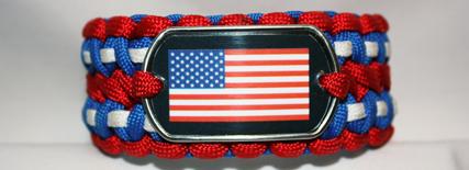 Patriotic- 2nd Amendment Paracord Survival Bracelets