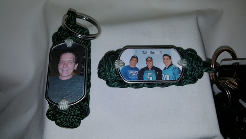 Custom Photo Dogtag Key Fob