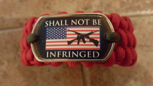 Shall Not Be Infringed Bracelet
